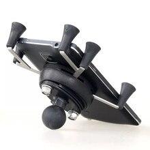 Texel と WebGrip X 電話クレードル B ボール 1 インチ (ブラック) ラムマウント & 携帯電話オートバイ自転車