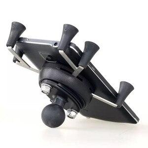 Image 1 - Texel と WebGrip X 電話クレードル B ボール 1 インチ (ブラック) ラムマウント & 携帯電話オートバイ自転車