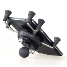 Texel WebGrip com X Grip Cradle Telefone B Ball 1 polegada (Preto) para ram mounts & celular Motocicleta Bicicleta