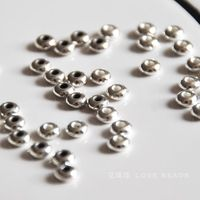 Beads Beads Tibetan Silver Spacer Thick Every Bead Diy Bracelet Necklace Handmade Beaded Materials