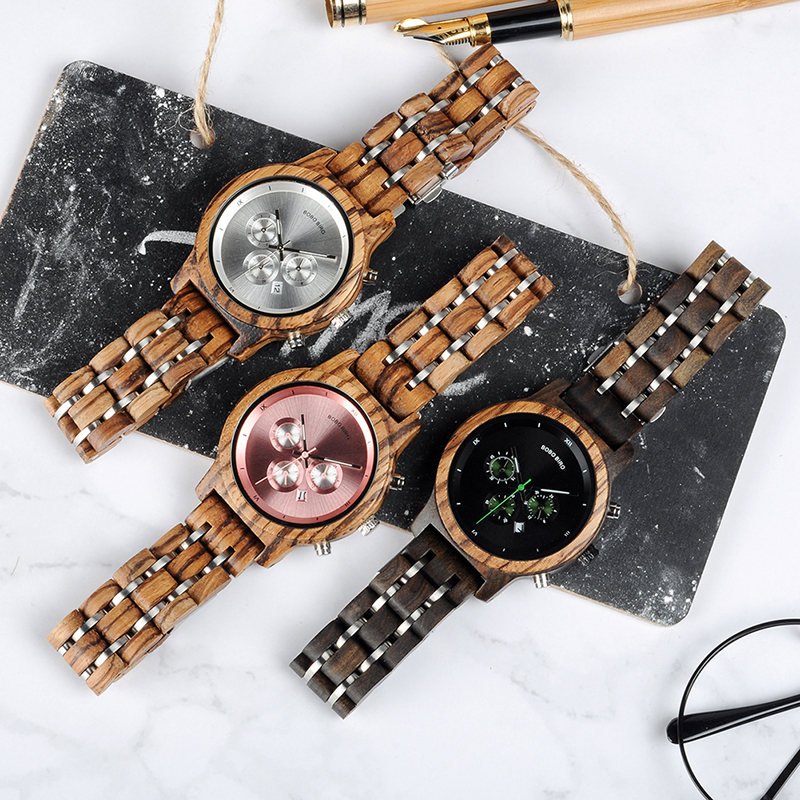 women bobo bird watches wood watches fashion (4)