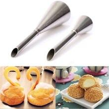 Длинное Обледенение труб насадки насадка для выпечки мешок торт кекс сахарное украшение инструмент