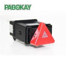 Luz de advertencia de emergencia para coche, interruptor FS para VW POLO 6N LUPO TRANSPORTER T4, 6N0953235B 6N0953235
