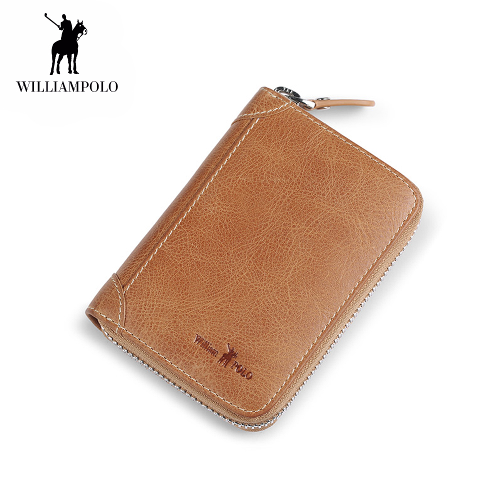 Genuine Leather Luxury Brand Men Wallets Zip Wallet Card Holder Purse Male Cow Leather Wallet ID Card Dollar Bill Wallet 202 brand men wallets dollar purse genuine leather wallet card holder luxury designer clutch business mini wallet high quality