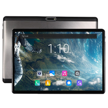 2018 Newest 10 inch tablet PC Android 7.0 Deca Core 4GB RAM 64GB ROM 1920*1200 IPS 2.5D Tempered Glass Kids Gift Adult Tablets