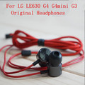 Genuine Original LE630 Headphones Earphones With Remote And Mic For LG G2 / G3 /G4/LE630 H818 D857 D802 D855