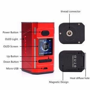 Image 4 - Trasporto libero di promozione Originale Laisimo F4 360W TC Box Mod Alimentato da 2 O 4 Batterie NI200 Ti SS Sigaretta Elettronica mod Per 510 Discussione