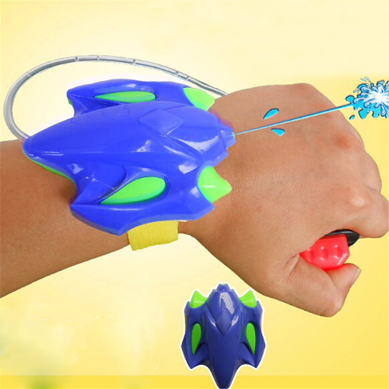 2019 Fashion Intelligent Children Favorite Summer Beach Toys Educational Water Fight Pistol Swimming Wrist Water Guns Boy Gift