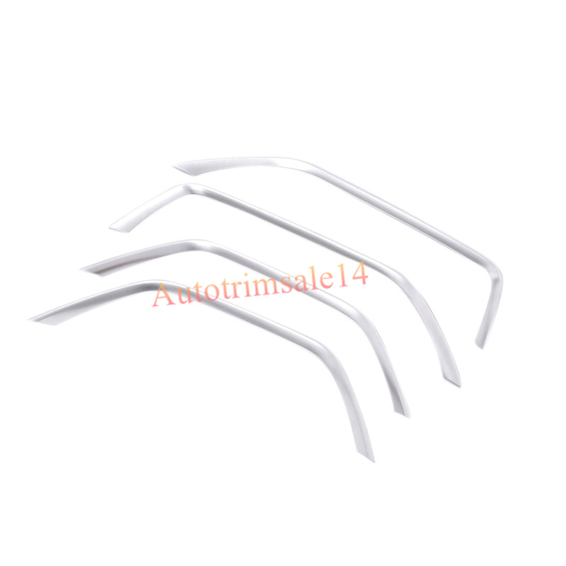 4Pcs ABS Interior Door Cover Trim For Land Rover Range Rover Evoque 2011-2016 for land rover range rover evoque inside