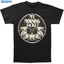 High Quality For Better  Printed O-Neck Short Sleeve My Morning Jacket Tee Men