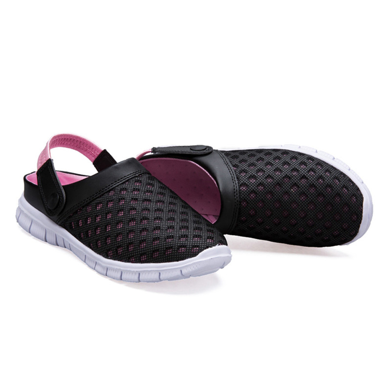 slippers Women shoes 2017 Summer Sandal Casual Mesh Breathable Padded Beach Shoes pantufa femme zapatillas zapatos de mujer 2017 wholesale hot breathable mesh man casual shoes flats drive casual shoes men shoes zapatillas deportivas hombre mujer