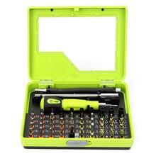 53 in1 Multi-purpose Precision Torx Magnetic Screwdriver Tool Set Tweezer Cell Phone Repair Tool for Mobile Phone PC 142*108*3mm