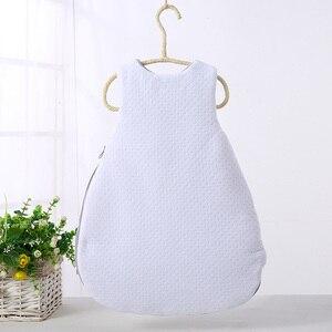 Image 2 - Baby schlafsack lange zipper infant baby sack baby winter schlafsack kinder kleidung pyjamas neugeborenen cartoon schlafsack