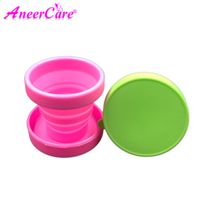 Image 4 - 25pcs esterilizador copa menstrual aneercare menstrual cup sterilizer folding cup copa menstrual de silicona medica