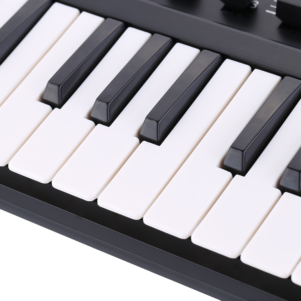Image 3 - Worlde Panda MIDI Keyboard 25mini Portable Mini 25 Key USB  Keyboard and Drum Pad MIDI ControllerElectronic Organ