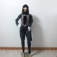 Persona 5 queen Makoto Niijima военная одежда для рождественской вечеринки, Хэллоуин, Униформа, костюм для косплея любого размера