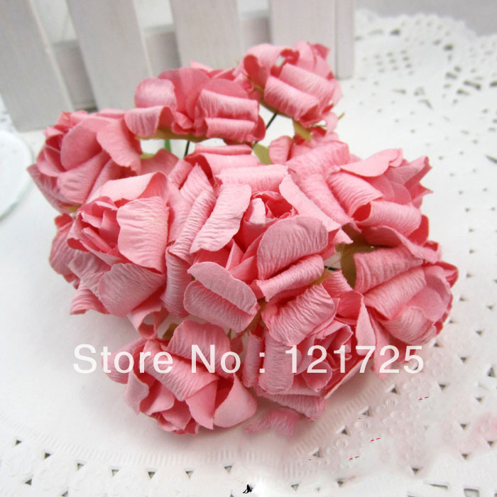 Online shop large pink curling artificial flower handmade diy candy online shop large pink curling artificial flower handmade diy candy box craft paper flowers wedding supplies candy box accessories flower aliexpress mightylinksfo