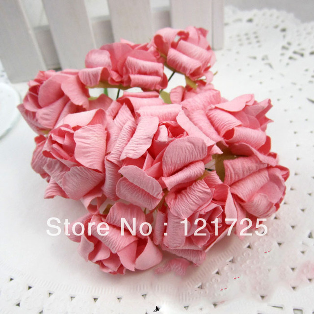 Large pink curling artificial flower handmade diy candy box craft large pink curling artificial flower handmade diy candy box craft paper flowers wedding supplies candy box mightylinksfo