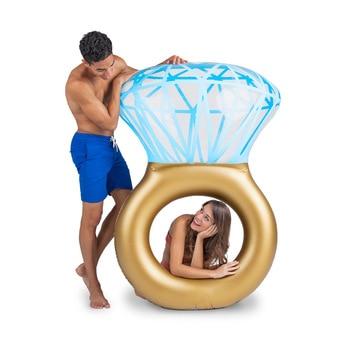 Diamond Ring Swimming Float 1