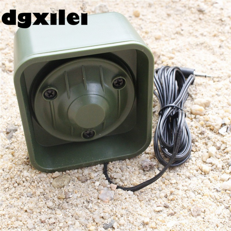 50W 150dB Loud Speaker Goose Duck Gull Hunting Decoy Bird Mp3 Sounds Player With 3.5 Audio Cable