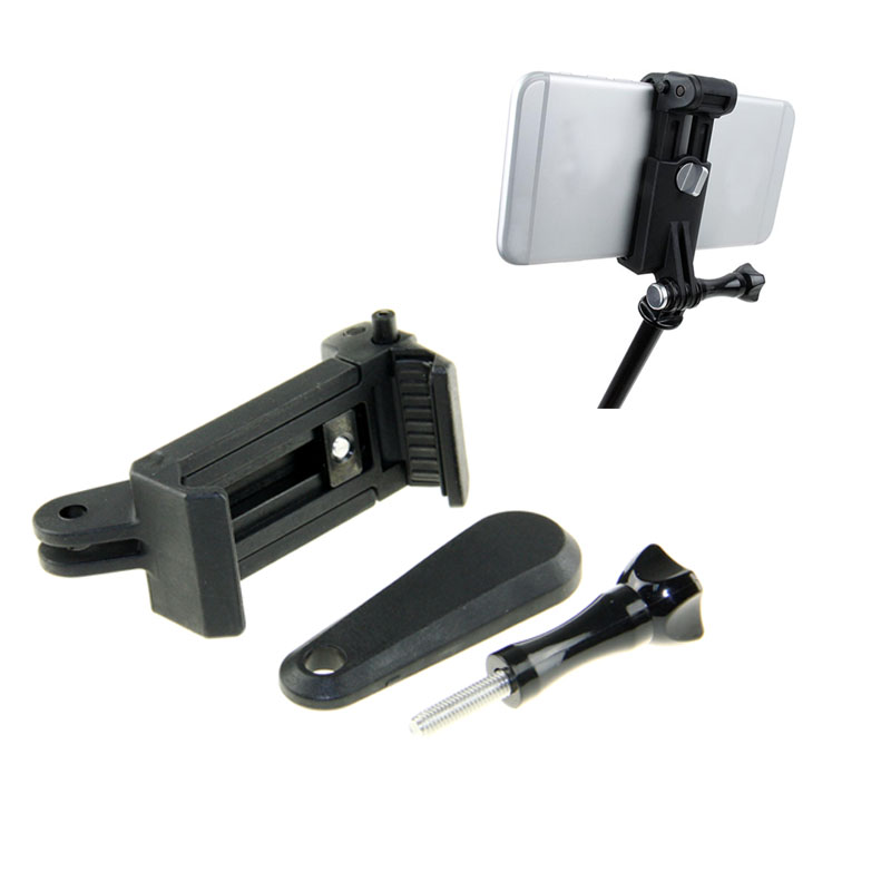 sale retailer 48d11 1548a GoPro Connecting Adjustable Cell Phone Clip Tripod Mount Adapter For ...