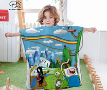 Cartoon adventure time funny Hooded baby Boys and Girls Towel Wearable Bath Towel For Kids Travel 3D print Beach Towels style-6 molly moon s hypnotic time travel adventure