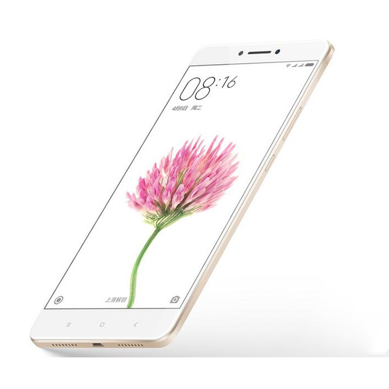 "Original Xiaomi Mi Max 6.44"" 1080P Big Screen Smartphone 4G LTE Snapdragon 650 Hexa Core 3GB 32GB 4850mAh 16.0MP Fingerprint"