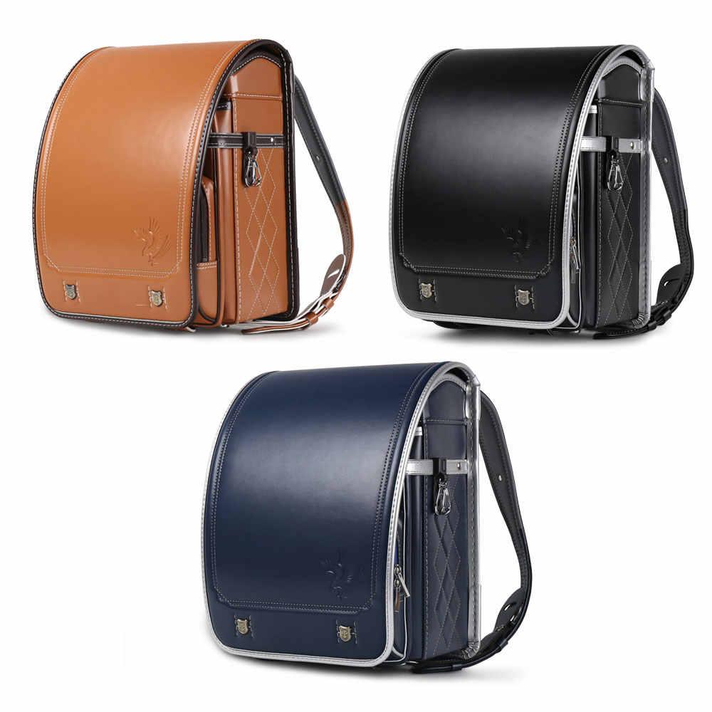 Coulomb японский Randoseru детей школьного рюкзака для детей сумки, Орел A4 mochila infantil детские ортопедические рюкзаки мальчик рюкзаки для подростков школьные рюкзаки для мальчиков портфель школьный для мальчиков