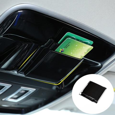 acessorios do carro interior telhado inserir caixa de cartao bandeja organizador para land rover range