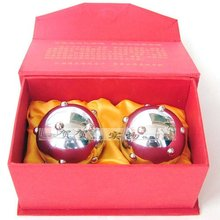 health ball Baoding fitness    massage  meridian points clear in the elderly health care   pocket hand ball