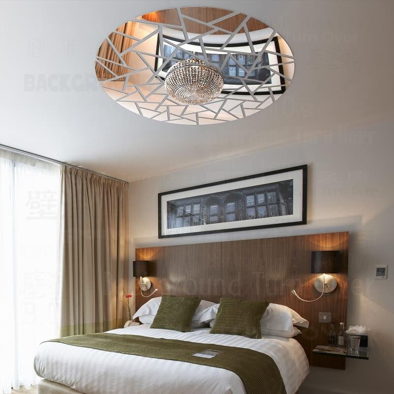Astratto Nube Di Buon Auspicio Soffitto Decorativo 3d Specchio Wall