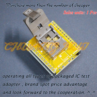 QFN24 To DIP24 Programmer Adapter DFN24 WSON24 MLF24 Test Socket Size 4mmX4mm Pitch 0 5mm