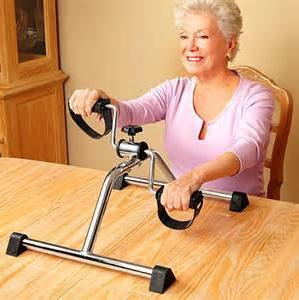 The elderly stroke onset of power equipment rehabilitation trainer bike machines leg health equipment proactive rehabilitation health mobility trainer training arm and leg exercise bike fitness adjust resistance display calories