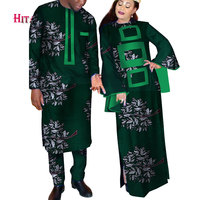 african couple dress africa dresses for women and mens danshiki african clothing tenue africaine couple dress for lovers WYQ144