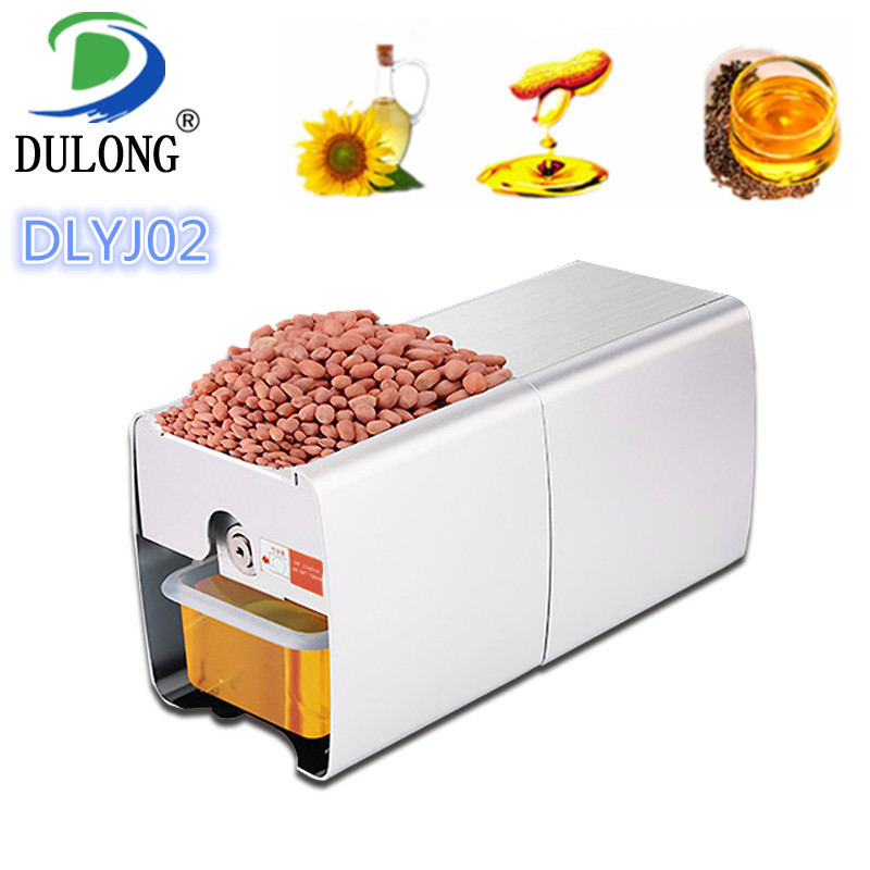 Top quality mini vegetable oil press machine high oil yield automatic peanut sesame sunflower seed oil extraction machine zyj 02 new oil press machine hot and clod pressing for peanut soybean sesame oil making machine high oil extraction rate