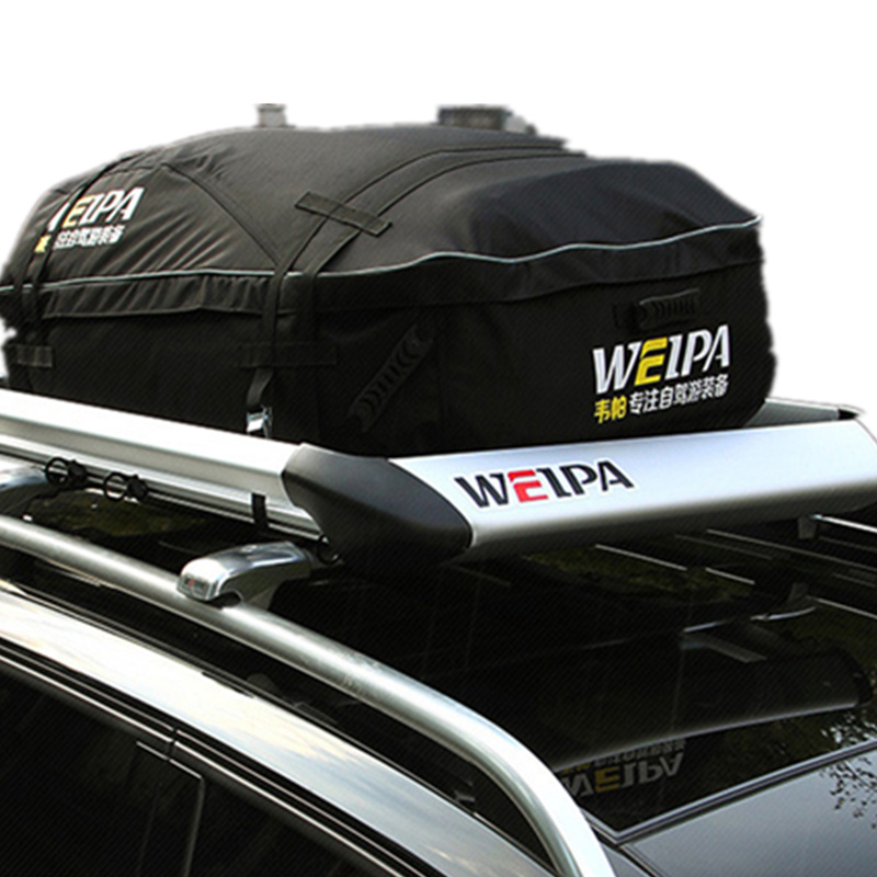 Waterproof Car Style Roof Top Travel Bag Rack Cargo Carrier Luggage Storage  Touring SUV for Cars Vehicles With Roof Rails