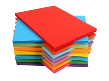 Colour paper A4 hand origami childrens mixed red and black colour photocopy 80g fluorescent printing