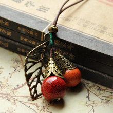 Best Copper Tree Leaf Necklaces Cheap
