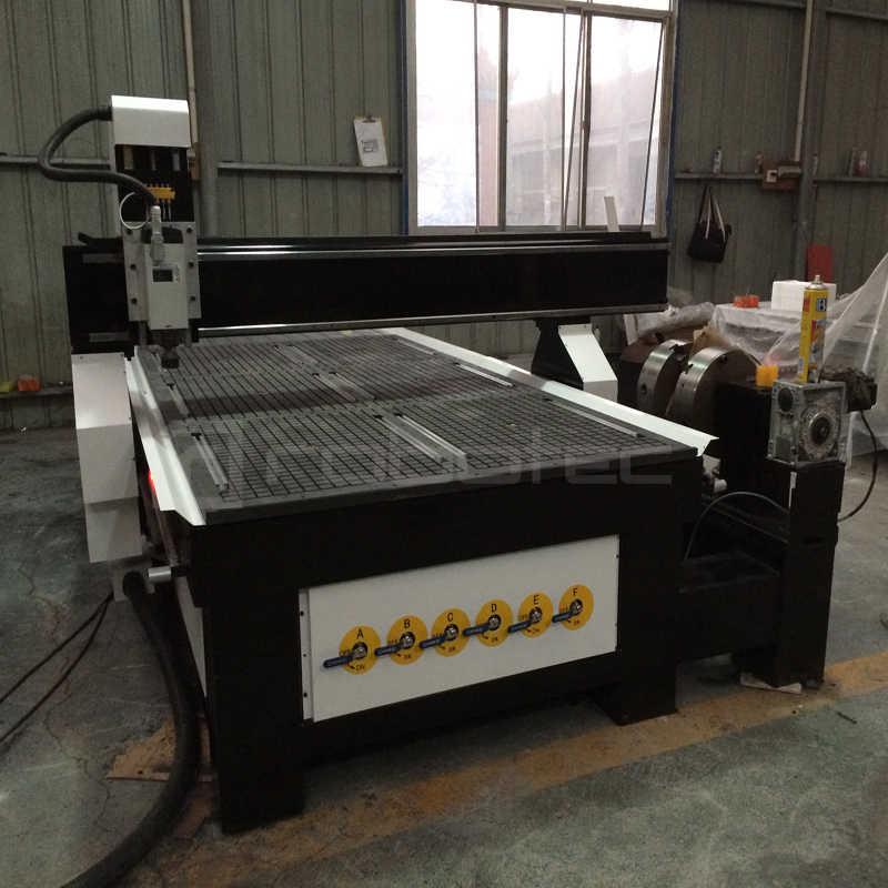 Meble do sypialni ATC maszyna do rzeźbienia w drewnie/1325 CNC Router 4 osi frezarka do drewna/3D Metal aluminium CNC grawerowanie grawerowanie