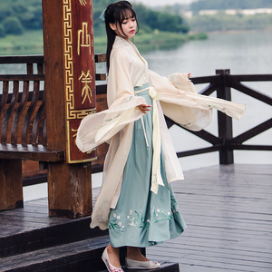 Image 5 - Chinese Traditional Fairy Costume Ancient Han Dynasty Princess Clothing National Hanfu Outfit Stage Dress Folk Dance Costume 90