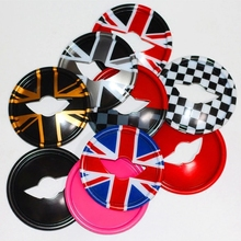 цена на 3D Steering Wheel Decal Graphics Cover Smooth Surface Car Sticker For MINI Cooper Clubman Countryman F54F55F56F60