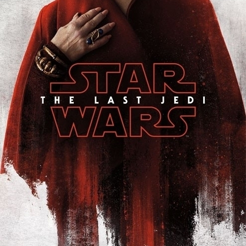 Star Wars The Last Jedi – Red Leia Laminated Poster Print (22 x 34)