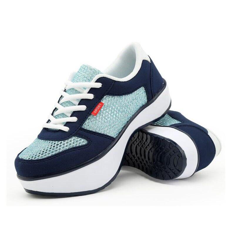 Женская летняя обувь из сетчатого материала; женская ортопедическая повседневная обувь на отрицательном каблуке; прогулочная обувь для девочек; сезон лето; 2018; #2