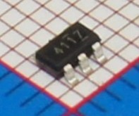 Si  Tai&SH    LED PT4117E23F  SOT23-6  integrated circuit