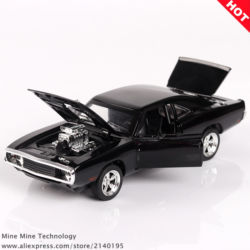 ZXZ 1:32 Dodge Charger The Fast And The Furious Free Shipping Alloy Car Models kids toys for children Classic Metal Cars