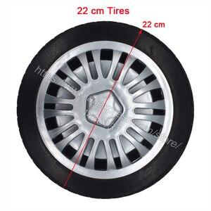 Image 4 - なし膨張させる必要がソフトタイヤ子供のための電気自動車、衝撃吸収ホイール、子供の電気自動車泡タイヤ