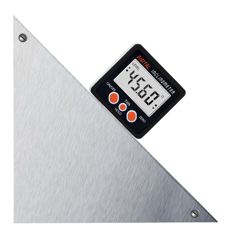 Image 5 - New Aluminum enclose Electronic Protractor Inclinometer Bevel Box Angle Level Magnet Inside digital inclinometer angle-in Level Measuring Instruments from Tools