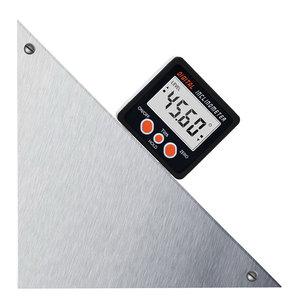Image 5 - Nuovo alluminio racchiude goniometro elettronico inclinometro scatola smussata angolo livello magnete allinterno angolo inclinometro digitale