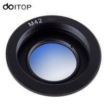 Doitop объектива переходное кольцо для M42 объектив Nikon Адаптер для установки преобразователь с Бесконечность Стекло для Nikon SLR DSLR камера #