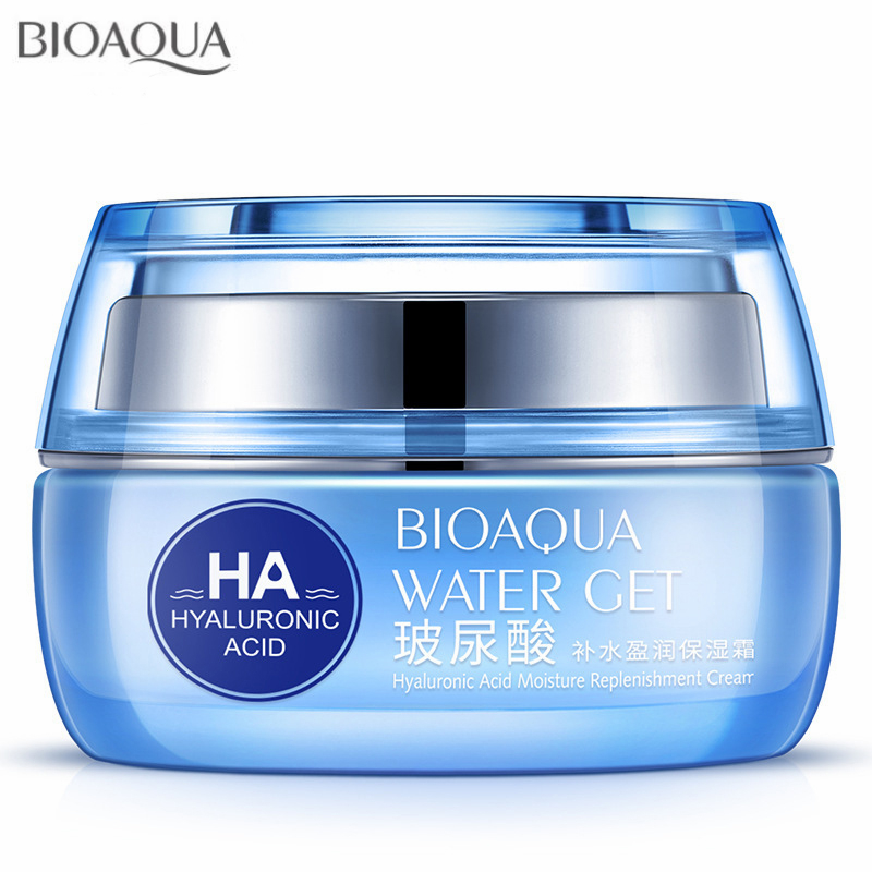 Hyaluronic Acid Face Moisturizer Cream Deep Hydrating Anti-Wrinkle Face Cream Korean Facial Day Cream Cosmetic For Dry Skin 50g 5